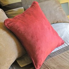 "Blazing Needles 18"" Micro Suede Throw Pillows (Set of 2)"