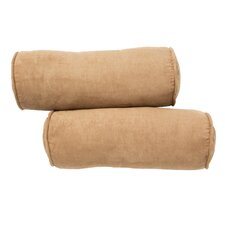 <strong>Blazing Needles</strong> Premium Micro Suede Futon Bolster (Set of 2)