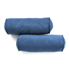 Micro Suede Futon Bolster (Set of 2)