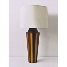 <strong>Babette Holland</strong> Striped Gemini Table Lamp with Shade