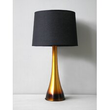 Ostrich Table Lamp with Linen Shade