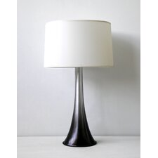 <strong>Babette Holland</strong> Flamingo Table Lamp with Linen Shade