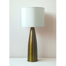 Val Striped Table Lamp with Shade