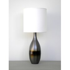 <strong>Babette Holland</strong> Horizon Juggler Table Lamp with Linen Shade