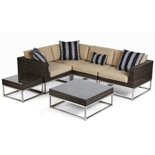 Mirabella Sectional with Cushions
