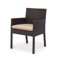 Maxime Dining Arm Chairs with Cushion (Set of 2)