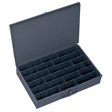 Primed Colled Rolled Steel Large Adjustable Compartment Box