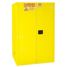 "65"" H x 43"" W x 34"" D Flammable Safety Door Cabinet"