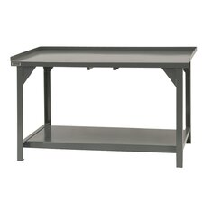 Heavy Duty Steel and Iron Top Workbench