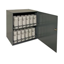 "Prime Cold 21.88"" H x 20.31"" W x 15.94"" D Rolled Aerosol Storage Cabinet"