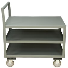 14 Gauge Steel Low Deck Service Cart