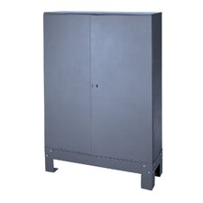 "Prime Cold Rolled 33.75"" Steel Hinged Door Set"