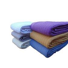Santa Barbara Waffle Cotton Weave Blanket