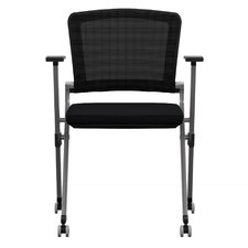 Ziggy Mesh Nesting Chair with Arms