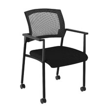 Speedy Mesh Mobile Chair with Arms