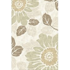 Indian Summer Kew Beige Tufted Rug