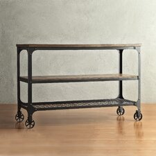 Vienna Rectangle Industrial Console Table