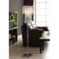 Cortona 3 Light Crystal Floor Lamp