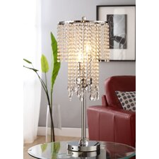 "Cortona Rain 31.5"" H Table Lamp with Drum Shade"
