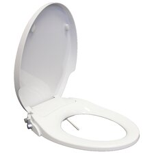 2 Piece Soft Closing Elongated Bidet Toilet Seat