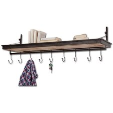 Gresham Shelf with Hooks
