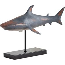Whallus Decorative Great White Shark Figurine