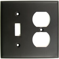 Double and Recep Switch Plate