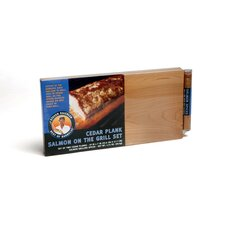 Cedar Two Plank set for Salmon with Spices (Set of 2)