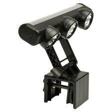 Adjustable 3-Head LED Grill Light