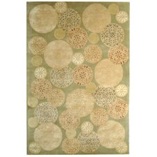 <strong>Martha Stewart Rugs</strong> Parasols Herbal Garden Rug