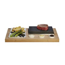 The Bamboo Range 6 Piece Sizzling Steak Set