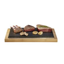 The Bamboo Range 2 Piece Sharing Steak Plate Set