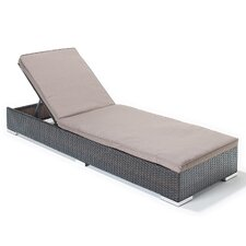 Luxe Sun Lounger with Cushion