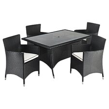 Prestige 5 Piece Rectangular Dining Set