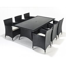 Prestige 7 Piece Rectangular Dining Set