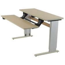 Infinity Adjustable Dual Surface Work Table