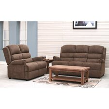 Shelby Microfiber Sofa Set