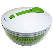 BPA-Free Swiss Designed Freshspin Salad Spinner and Serving Bowl