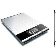 Ultra Thin Stainless-Steel Digital Kitchen and Food Scale