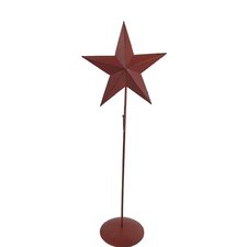 Tin Star Wreath Stand (Set of 2)