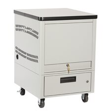 Laptop Depot Cart with 8 Capacity Unit