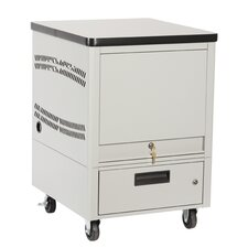 Laptop Depot Cart with 5 Capacity Unit