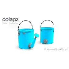 Collapsible 7 liter 2 in 1 Watering Can / Bucket