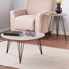 Holly and Martin 2 Piece End Table Set