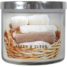 Fresh and Clean 3 Wick Jar Candle