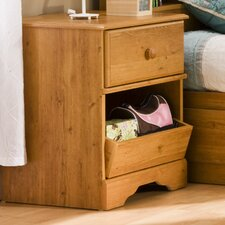 Amesbury 1 Drawer Treasures Bedside Table
