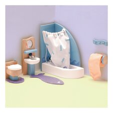 <strong>Le Toy Van</strong> Peppermint Powder Dollhouse Bathroom Set