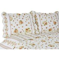 Vintage 3 Piece Bloomfield Quilt/Sham Set