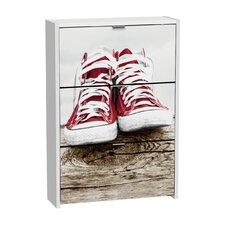 Schuhschrank Sneakers mit 3 Klapptüren
