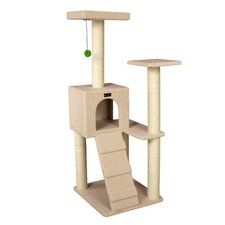 "<strong>Armarkat</strong> 53"" Classic Cat Tree in Ivory"